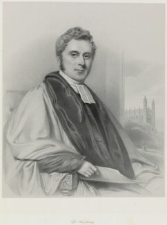George Thackeray, by Richard James Lane - NPG D21756