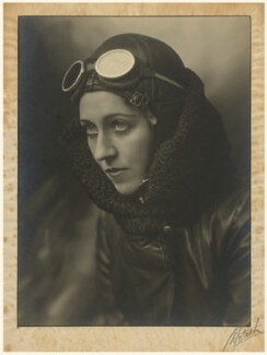Amy Johnson, by John Capstack, circa 1933-1935 - NPG x126829 - © Capstack Portrait Archive/ Mary Evans Picture Library