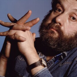 Mike Leigh, by Chris Garnham - NPG x38113