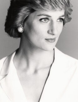 Diana, Princess of Wales, by David Bailey - NPG x32745