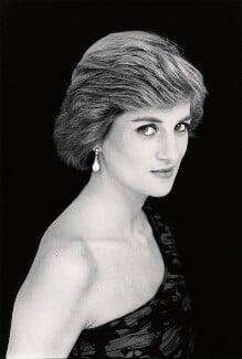 Diana, Princess of Wales, by David Bailey - NPG x32749