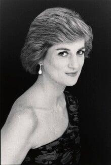 Diana, Princess of Wales, by David Bailey - NPG x32752