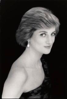 Diana, Princess of Wales, by David Bailey - NPG x32753