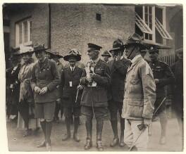 Robert Baden-Powell; Claude John Perceval, by Unknown photographer - NPG x8893
