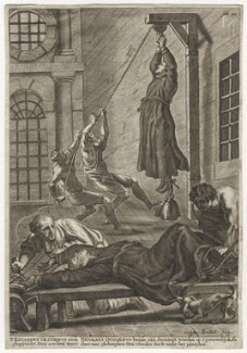 Edward Oldcorne; Nicholas Owen, by Gaspar Bouttats - NPG D17092