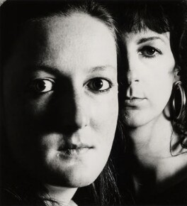 Denise Thorn; Gill Bradley, by Chris Garnham - NPG x38102