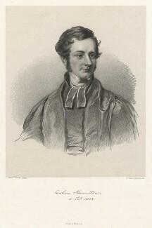Arthur Hamilton, by Richard James Lane, printed by  Graf & Soret, after  James Ramsay - NPG D21780