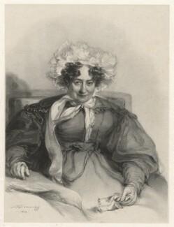 Sabrina Bicknell, by Richard James Lane, after  Stephen Poyntz Denning - NPG D21782