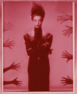 'Red Girl' (Unknown woman), by Chris Garnham - NPG x126846