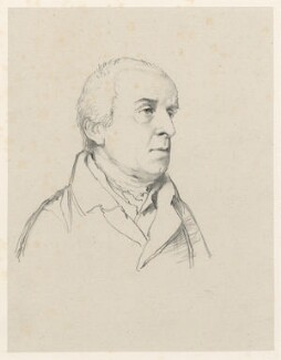William Gunn, by Richard James Lane, printed by  M & N Hanhart, after  John Flaxman - NPG D21785