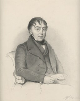 Alfred Tidey, by Richard James Lane - NPG D21802