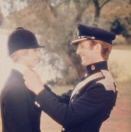 Princess Anne; Mark Phillips, by Norman Parkinson - NPG x126851