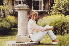 Diana, Princess of Wales, by Tim Graham - NPG x29861