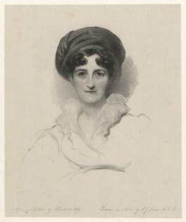 Jane (née Mildmay), Lady St John-Mildmay, by Richard James Lane, after  George Henry Harlow - NPG D21809