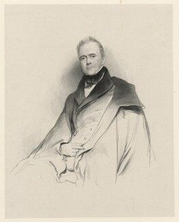 W. Dickinson, by Richard James Lane - NPG D21812