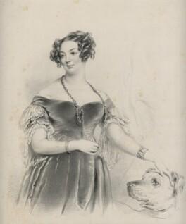 Mrs Scarisbrick, by Richard James Lane - NPG D21821