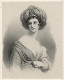 Emily de Delmar (née Rumbold), by Richard James Lane, after  Sir George Hayter - NPG D21825