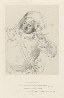 'Sir Toby Belch', by Richard James Lane, published by  Joseph Dickinson, after  Sir Thomas Lawrence - NPG D21826
