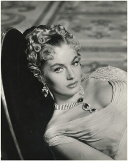 Anita Ekberg as Hélène Kuragina in 'War and Peace', by Antony Beauchamp - NPG x126697