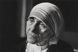 Mother Teresa of Calcutta (Agnes Gonxha Bojaxhiu), by Jane Bown - NPG x28633