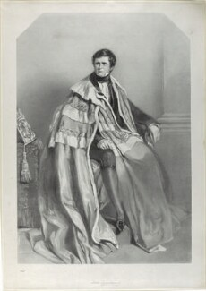 John Singleton Copley, Baron Lyndhurst, by Richard James Lane, after  Alfred Edward Chalon, published 1836 - NPG D21835 - © National Portrait Gallery, London