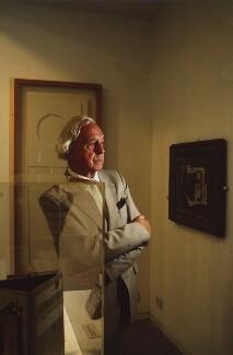 Sir (John) Leslie Martin, by Philip Sayer - NPG x76417
