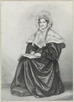 Lady Harriet Richardson, by Richard James Lane - NPG D21839