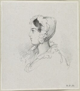 Mary Susanna Gilbert, by Richard James Lane - NPG D21845