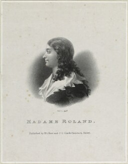 Jeanne Manon Philipon Roland de la Platière, by Richard James Lane, published by  H.L. Hunt, published by  C.C. Clarke - NPG D21847