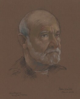 Athol Fugard, by Peter Wardle, 2002 - NPG 6679 - © National Portrait Gallery, London