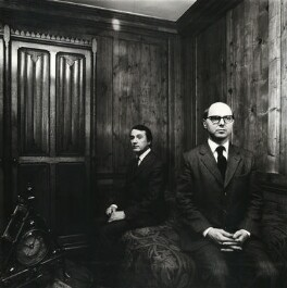 Gilbert & George, by Chris Garnham - NPG x38383
