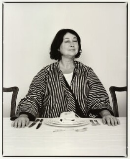 Fay Maschler, by Barry Marsden - NPG x87883
