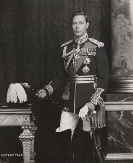 King George VI, by Bertram Park - NPG x1693