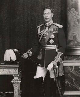 King George VI, by Bertram Park, 15 March 1938 - NPG x1693 - © estate of Bertram Park / National Portrait Gallery, London