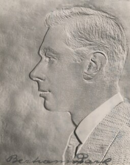 King George VI, by Bertram Park, 1930s - NPG  - © estate of Bertram Park / National Portrait Gallery, London