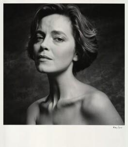 Greta Scacchi, by Alistair Morrison - NPG x36498