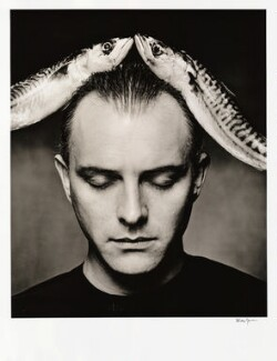 Rik Mayall, by Alistair Morrison, February 1991 - NPG  - © Alistair Morrison