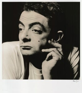 Rowan Atkinson, by Alistair Morrison, August 1988 - NPG x36488 - © Alistair Morrison