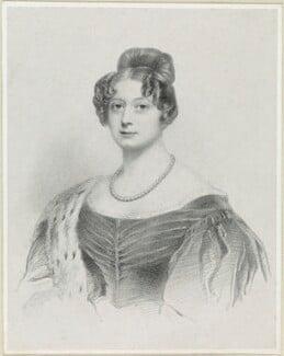 Lady Elizabeth Cornwallis, by Richard James Lane, after  Sir William John Newton - NPG D21866