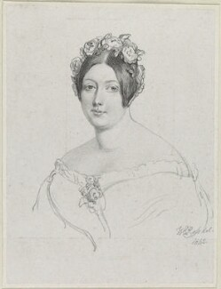 Frances Anne Vane, Marchioness of Londonderry, by Richard James Lane, after  Sir William Charles Ross - NPG D21870