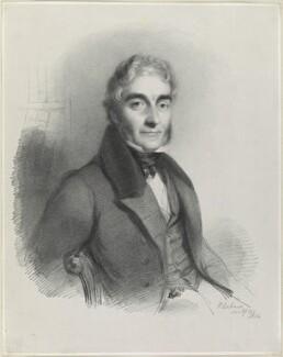Benjamin Travers, by Richard James Lane, after  William Behnes - NPG D21871