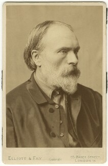 Sir Edward Burne-Jones, by Alfred James Philpott (Phillpot), for  Elliott & Fry - NPG x6422