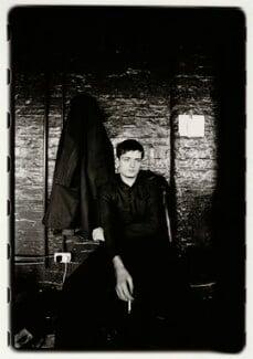 Ian Curtis, by Kevin Cummins, 19 August 1979 - NPG x88055 - © Kevin Cummins