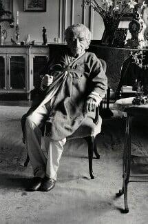 Sir Robert Mayer, by Jane Bown - NPG x126872