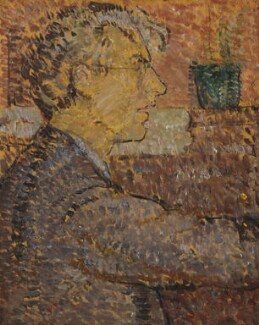 Roger Fry, by Vanessa Bell, 1912 - NPG  - © estate of Vanessa Bell courtesy of Henrietta Garnett; National Portrait Gallery, London