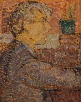 Roger Fry, by Vanessa Bell (née Stephen), 1912 - NPG 6684 - © estate of Vanessa Bell courtesy of Henrietta Garnett; National Portrait Gallery, London