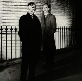 Robert Butler-Sloss; Anthony Radford, by Chris Garnham - NPG x38373