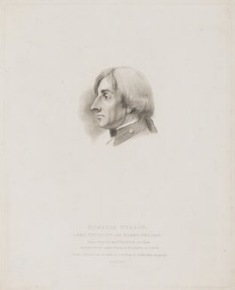 Horatio Nelson, by Thomas Burke, after  Simon de Koster - NPG D17799