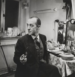 Sir Alec Guinness, by Lee Miller - NPG P1079