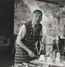 Oskar Kokoschka, by Lee Miller - NPG P1080